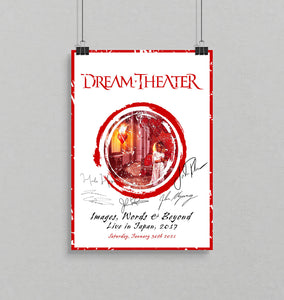 Dream Theater - Broadcast + Poster + Moderated Q&A Aftershow