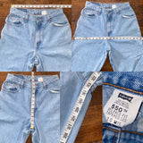 "Vintage Lightwash 550 Levi's Jeans ""28 ""27"