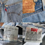"Vintage Lightwash 90's Women's Levi's Jeans ""27 ""28"