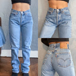 "Vintage Lightwash Women's 501 Levi's Jeans ""25 ""26"