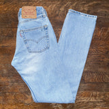 "Vintage Lightwash Levi's 501 Jeans ""23 ""24"