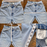 "Vintage 521 Lightwash Levi's Jeans ""26 ""27"