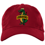 Ranger Gator with Tan Beret Brushed Twill Unstructured Dad Cap