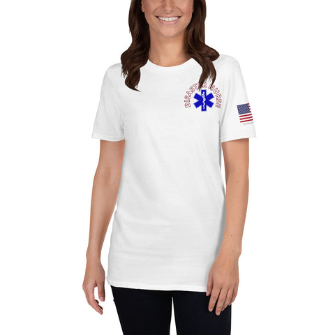 Disaster Nurse Short-Sleeve Unisex T-Shirt