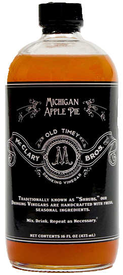 Michigan Apple Pie Drinking Vinegar