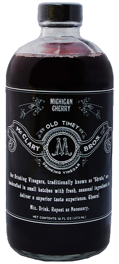 Shrubist's Reserve Michigan Cherry Drinking Vinegar
