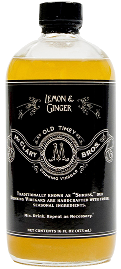 Lemon & Ginger Drinking Vinegar