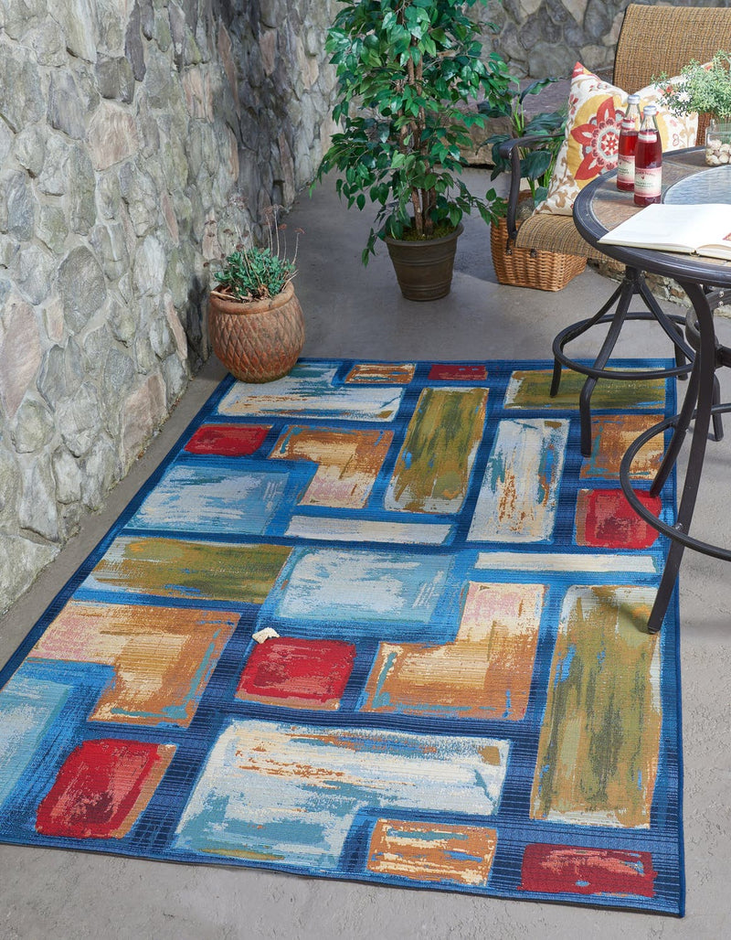 Outdoor Cubed Rug