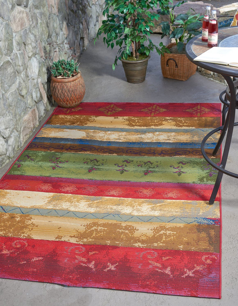 Outdoor Traditional Rug