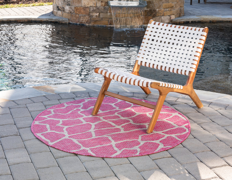 Outdoor Giraffe Rug
