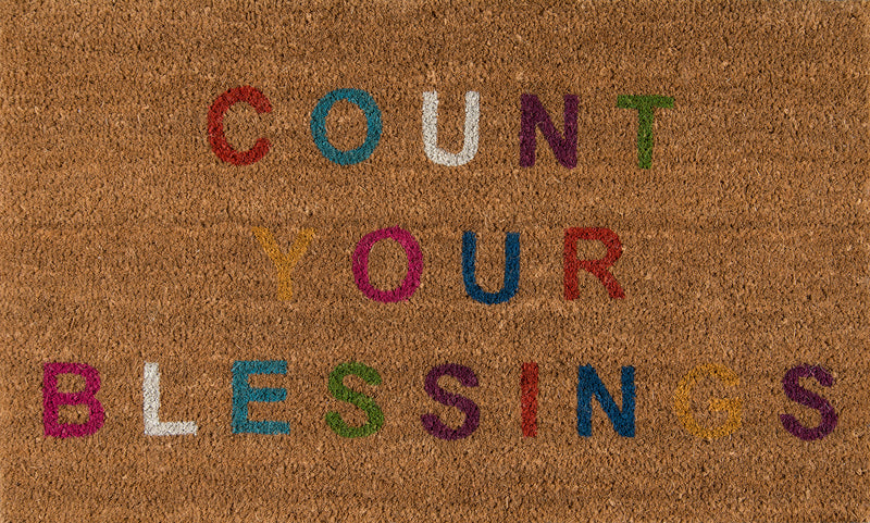 Aloha Count Your Blessings Rug