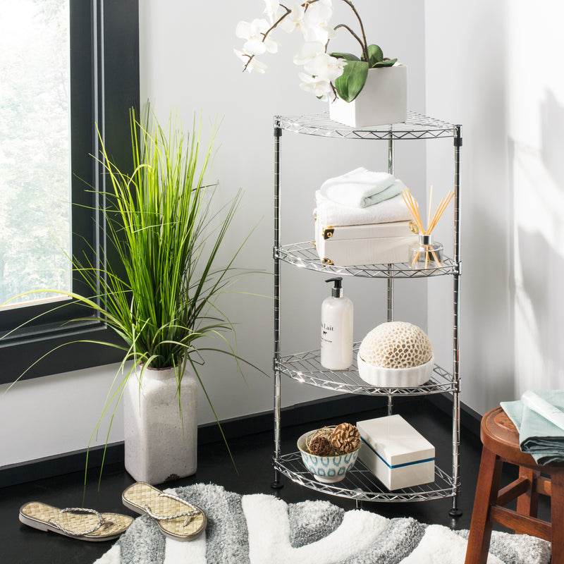Aleah 4-Tier Corner Storage Rack