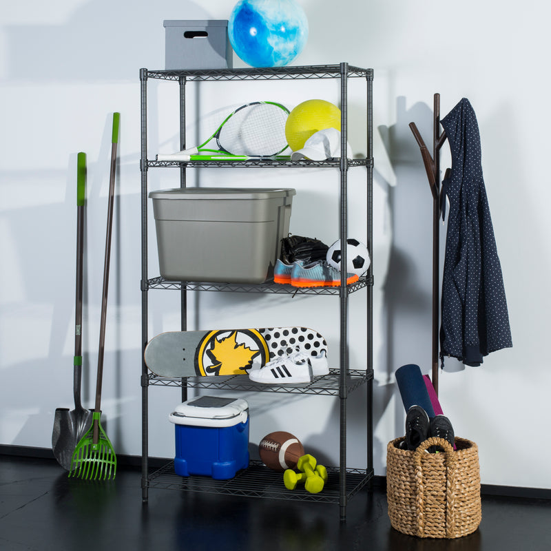 "Julia 71"" 5-Tier Adjustable Storage Rack"