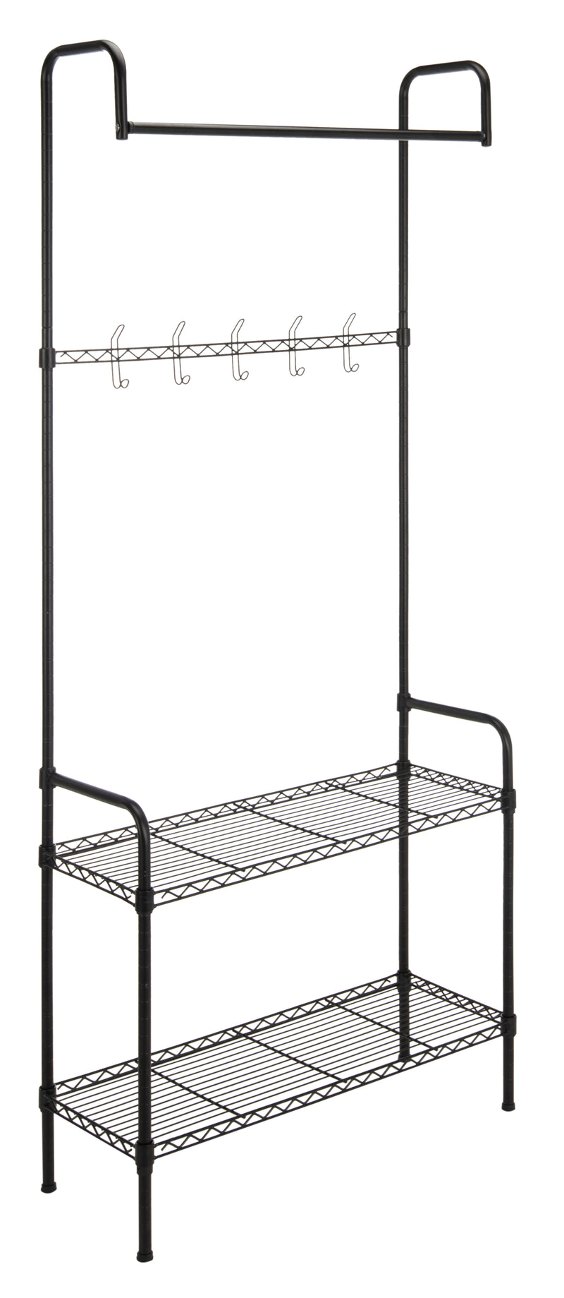 "Anderson 70"" Garment Rack and Shoe Storage"