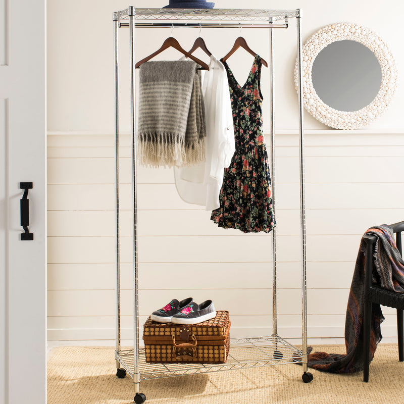 "Daisy 72.4"" Garment Rack on Casters"