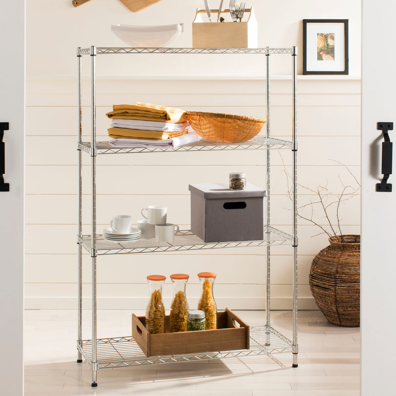 "Scout 53"" 4-Shelf Wire Rack"