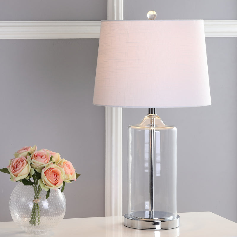 "Walsh 25"" Glass LED Table Lamp"