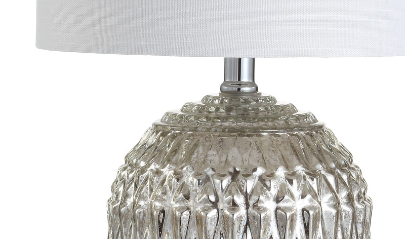 "Krister 20.5"" Glass/Metal LED Table Lamp"