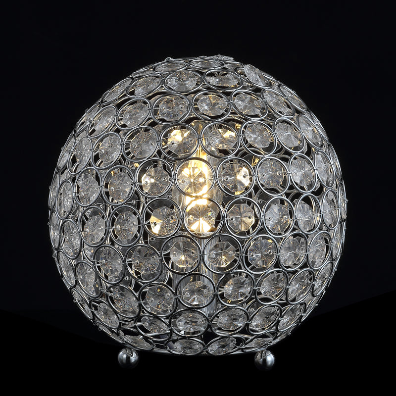"Gemma 8.25"" Acrylic/Metal LED Table Lamp"