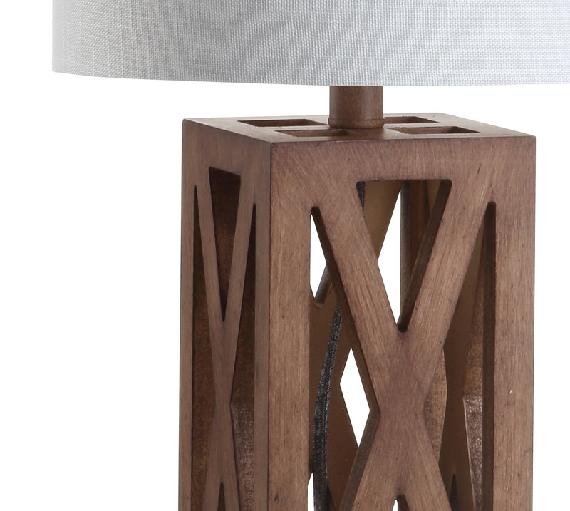 "Stewart 21.5"" Wood LED Table Lamp"