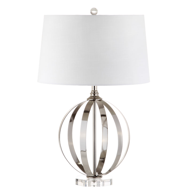 "Jonathan Y Logan 26"" Metal Orb LED Table Lamp"