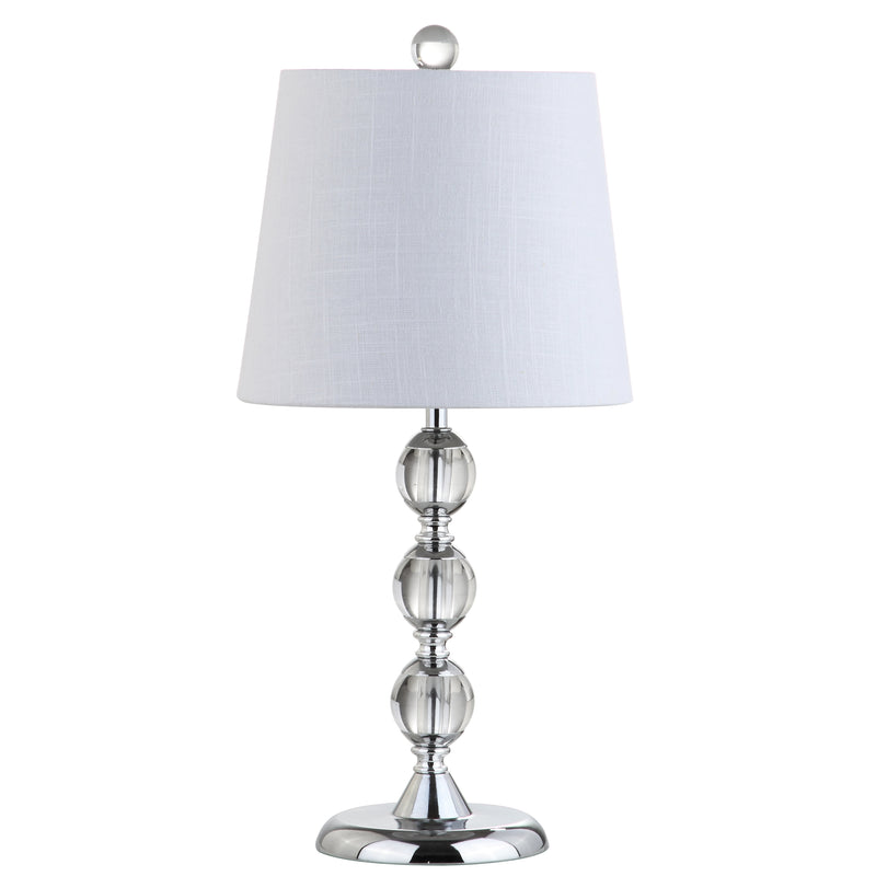 "Hudson 20"" Crystal Mini LED Table Lamp"