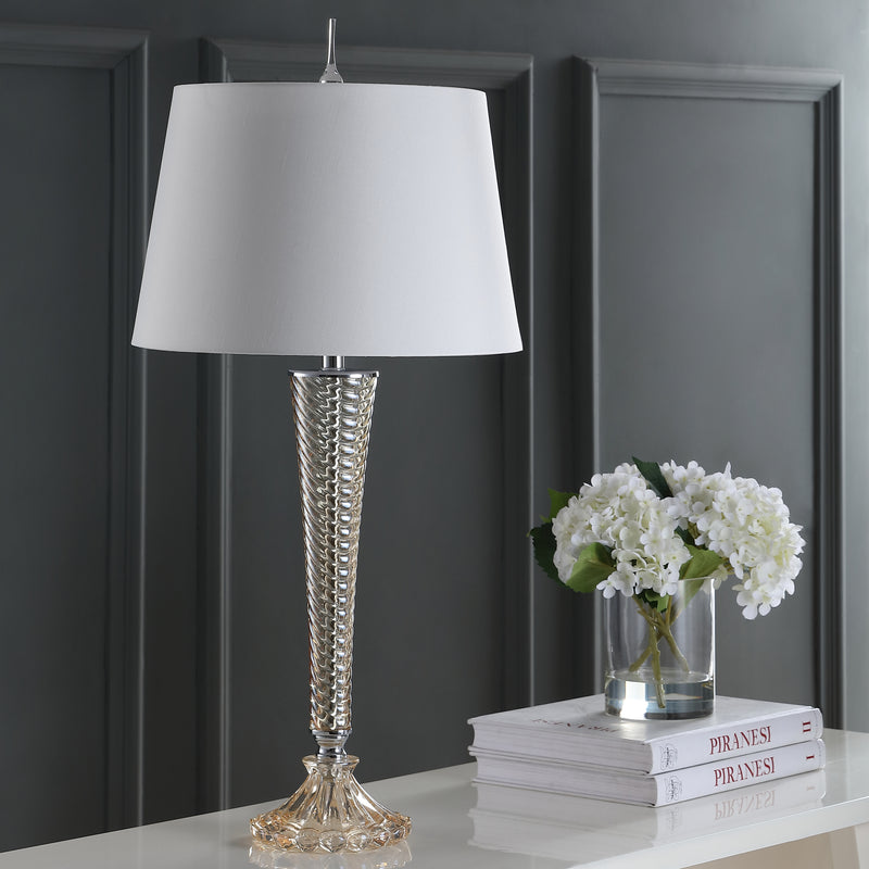 "Caterina 32"" Glass LED Table Lamp"