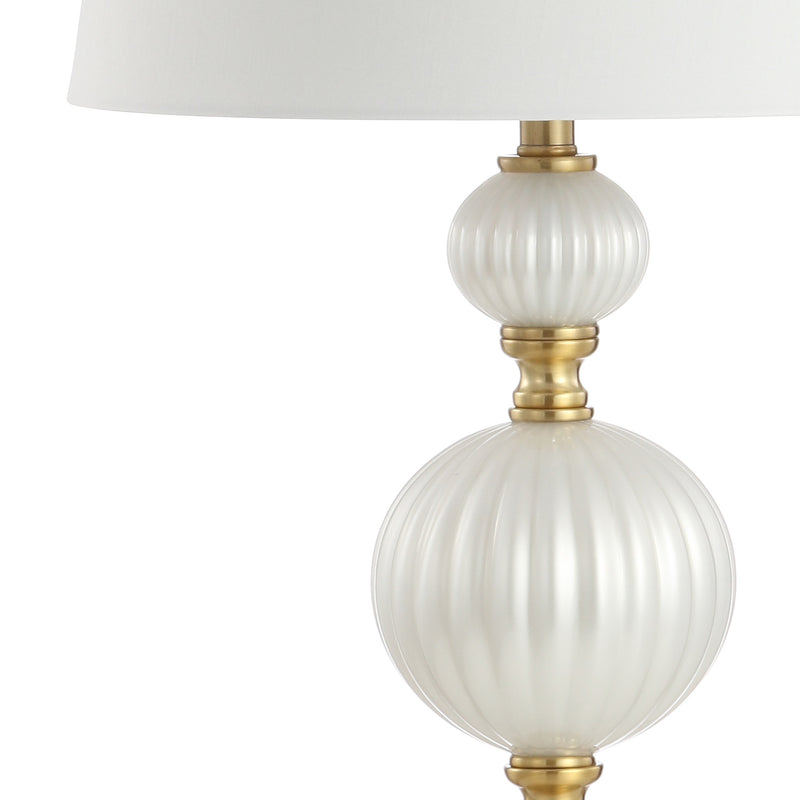 "Maddie 30"" Glass/Crystal LED Table Lamp"