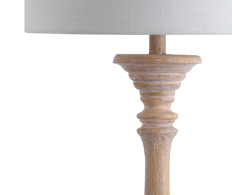 "Trisha 61.5"" Resin Spindle LED Floor Lamp"
