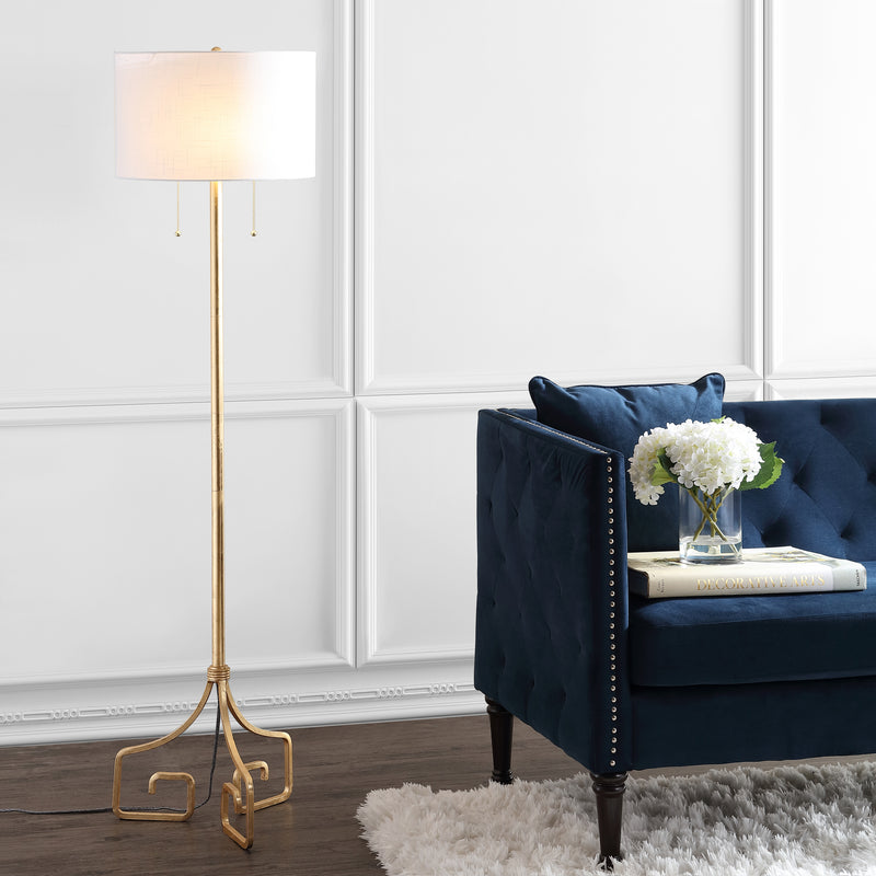 "Newman 61.5"" Metal LED Floor Lamp"