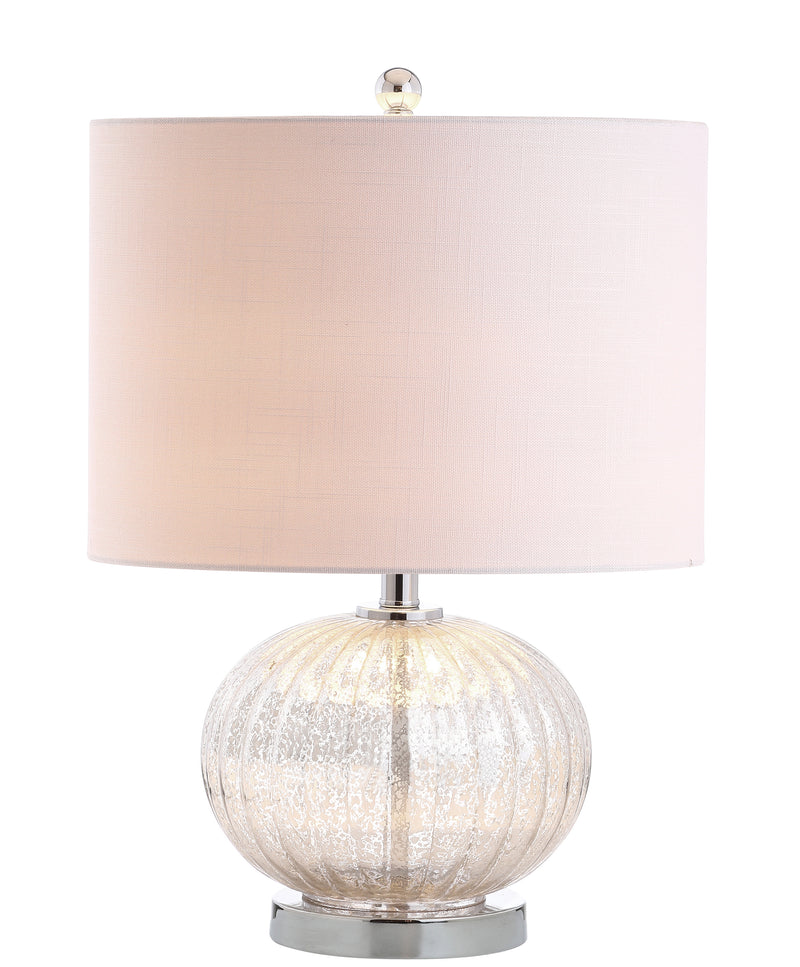 "Judith 21"" Mercury Glass LED Table Lamp"