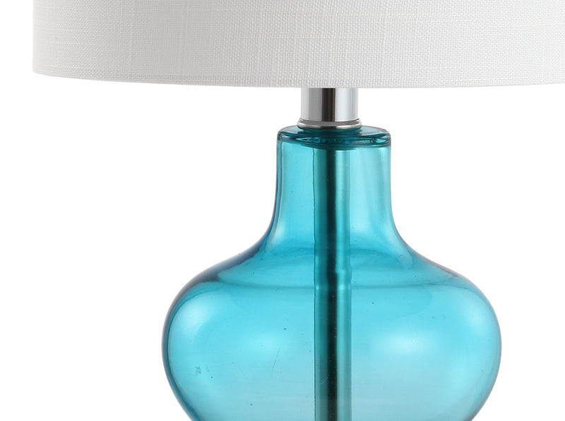 "Mer 20.5"" Glass/Metal LED Table Lamp"