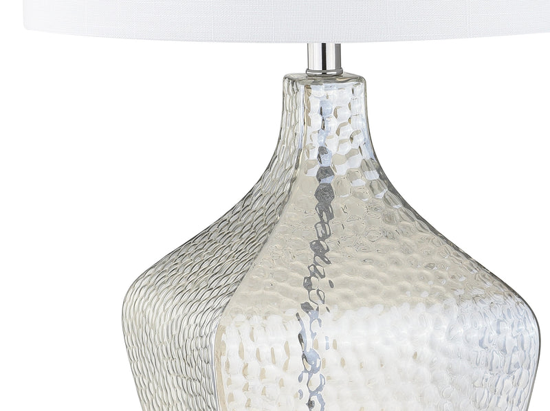"Jonathan Y Jane 26"" Glass LED Table Lamp"