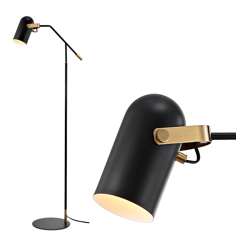 "Jonathan Y Eugenio 58.5"" Metal LED Floor Lamp"