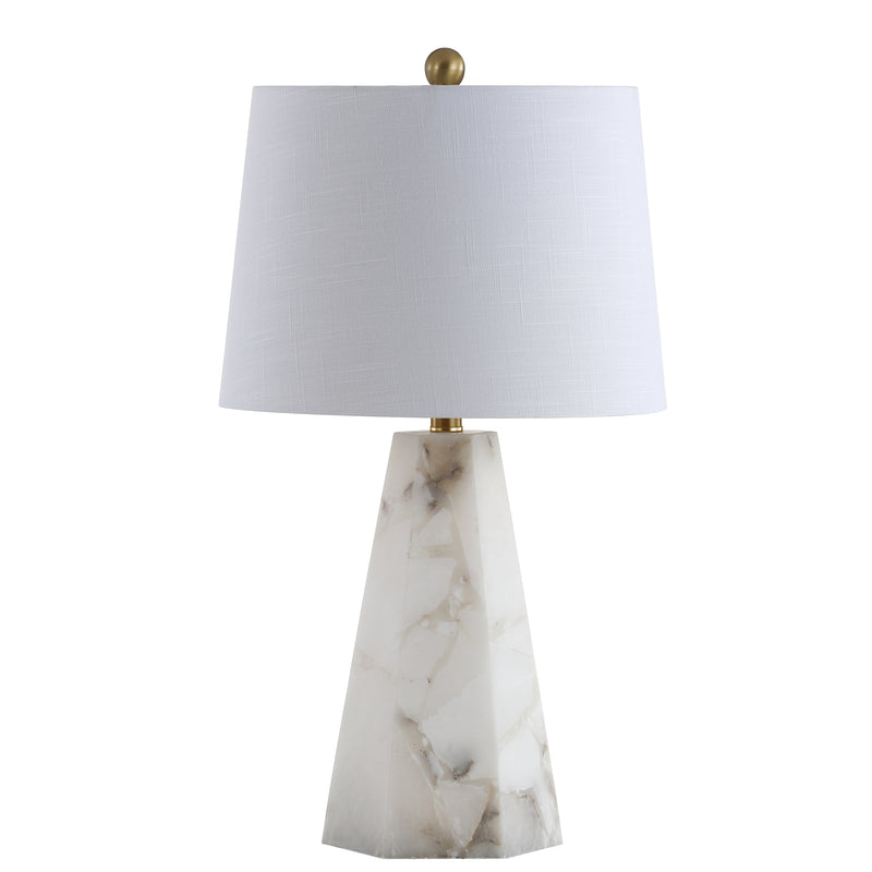 "Xio 25.5"" Alabaster LED Table Lamp"