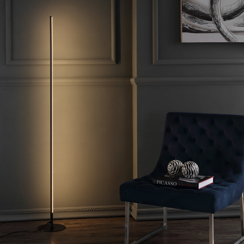 "Iris 59.5"" LED Integrated Floor Lamp"