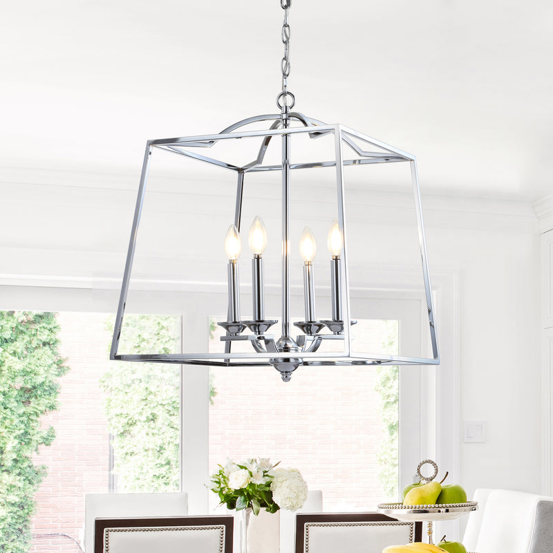 "Gloria 19"" 4-light Metal LED Pendant"
