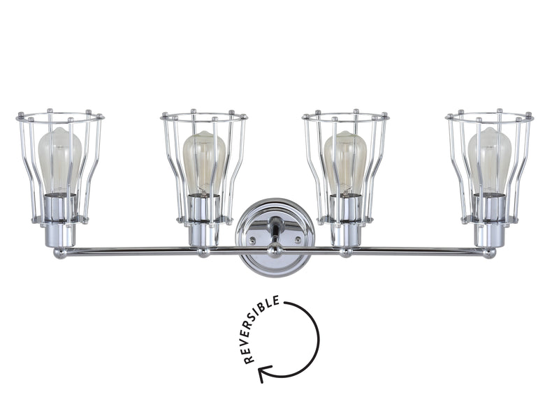 "Evelyn 29.5"" 4-light Metal Vanity Light"