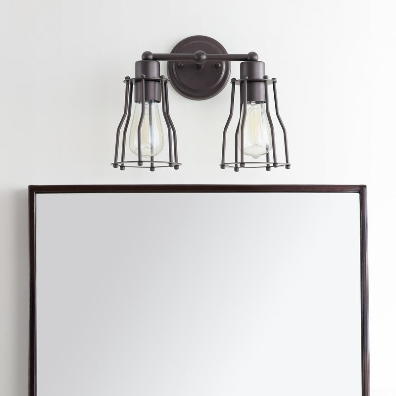 "Florence 12.5"" 2-light Metal Vanity Light"