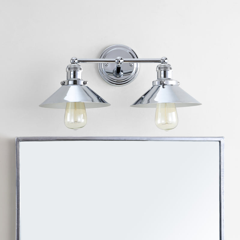 "Jonathan Y June 17.5"" 2-light Metal Vanity Light"