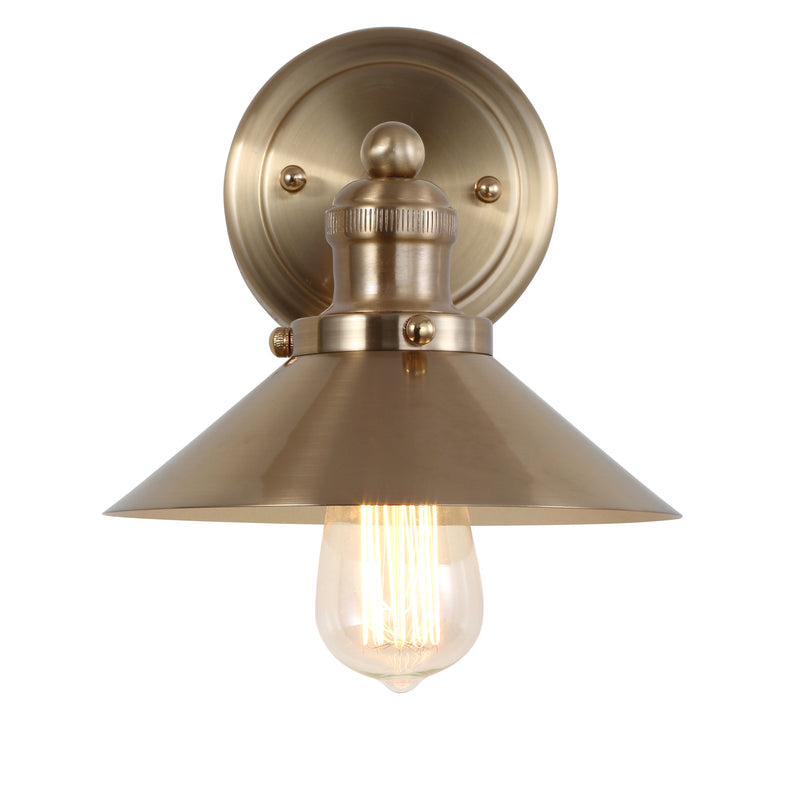 "August 7.75"" Metal Shade Sconce"