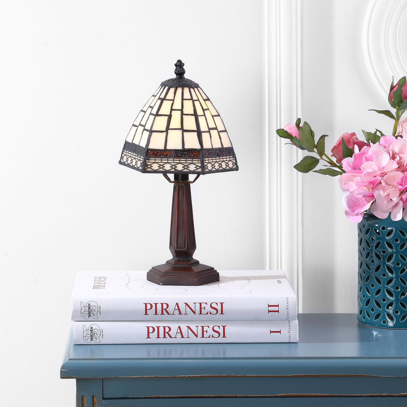 "Carter Tiffany-Style 12"" LED Table Lamp"