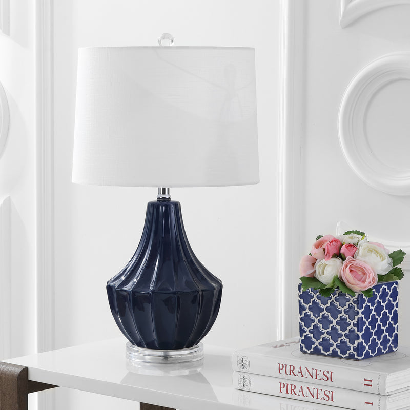 "Jonathan Y Tate 24.5"" Ceramic LED Table Lamp"