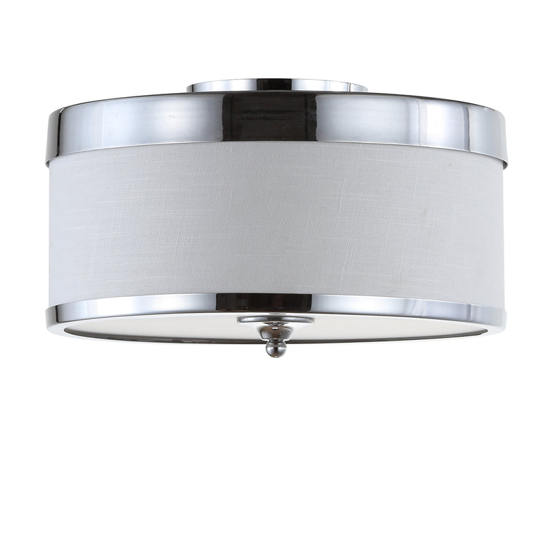 "David 15"" Metal LED Flush Mount"