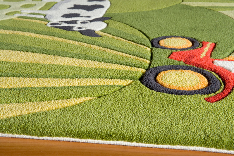 Lil Mo Whimsy Farm Land Rug
