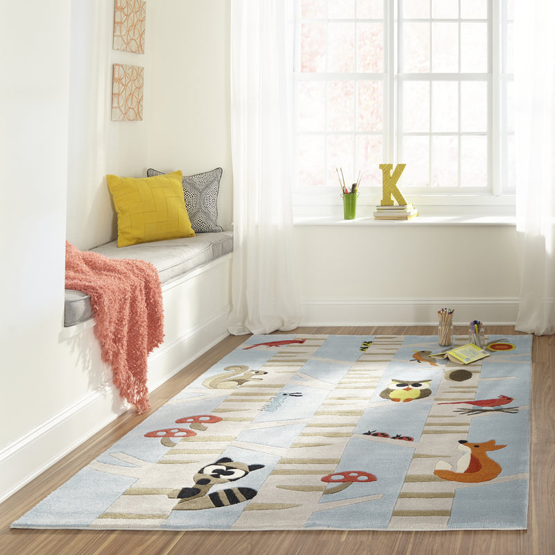 Momeni Lil Mo Whimsy Woodland Creatures Rug