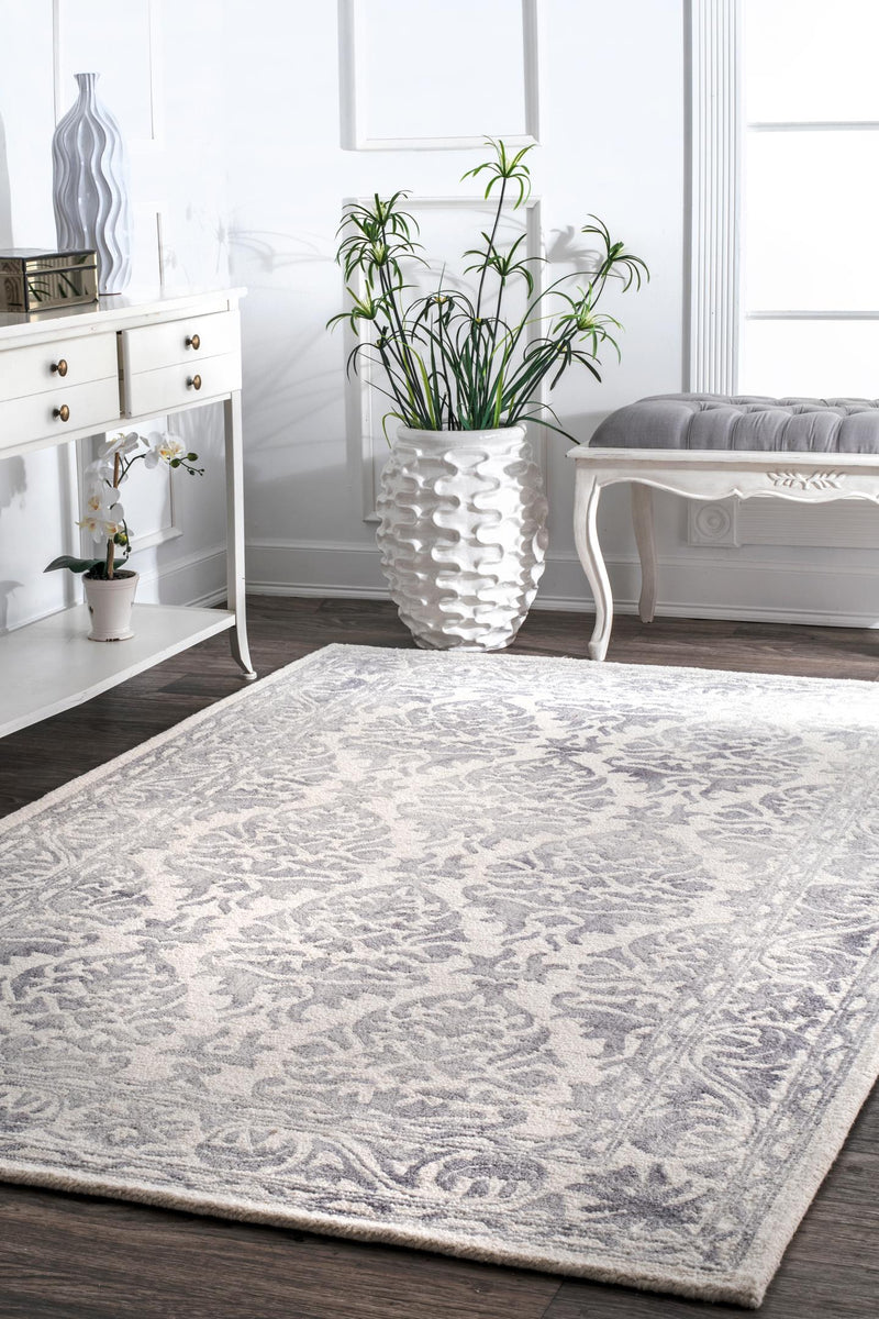 nuLOOM Hand Looped Krause Area Rug