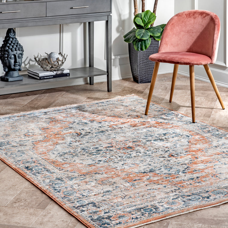 nuLOOM Piper Shaded Snowflakes Area Rug