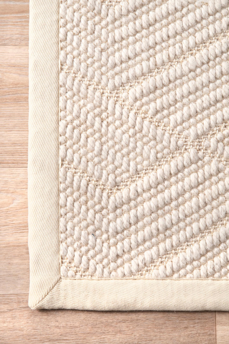 nuLOOM Natural Textured Suzanne Area Rug