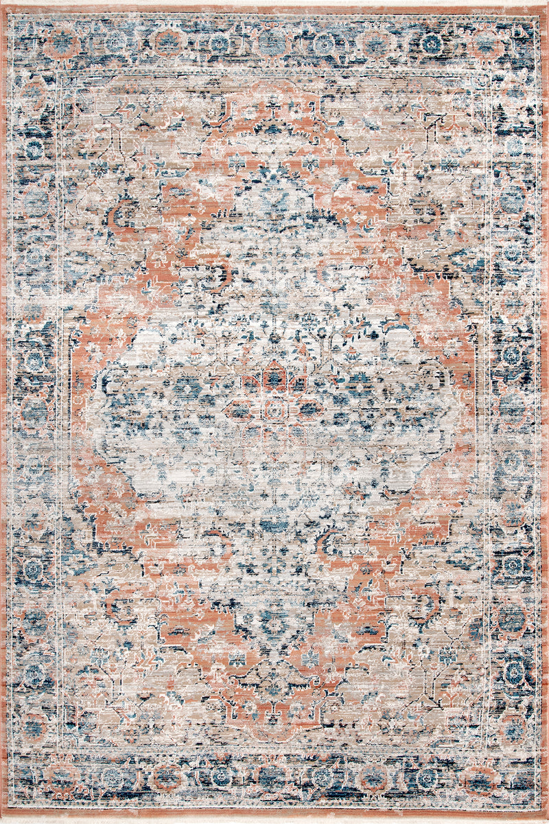 Piper Shaded Snowflakes Area Rug